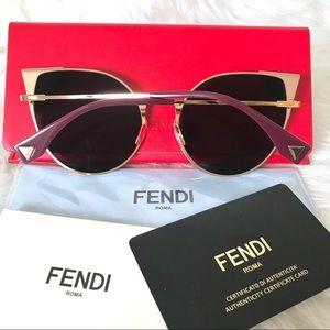 Fendi Accessories - FENDI Lei Cat Eye Sunglasses NEW